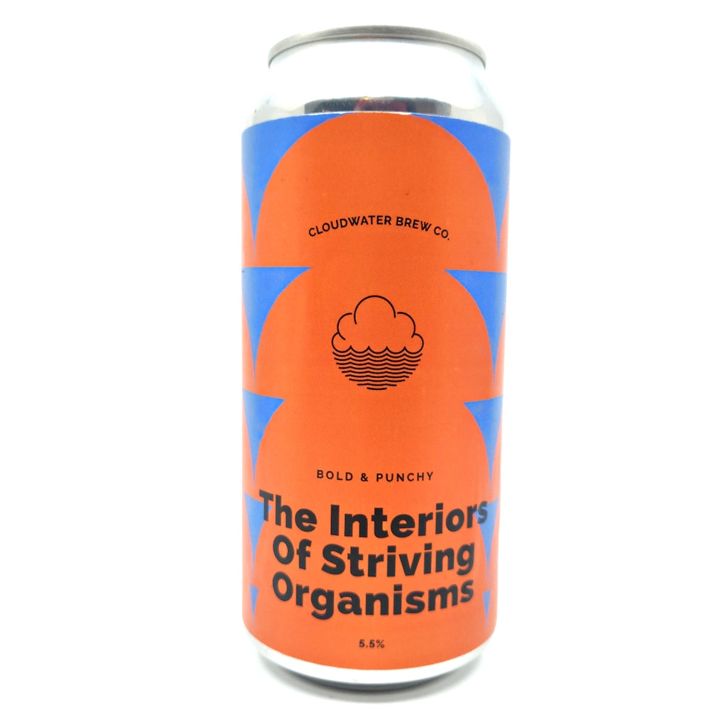 Cloudwater The Interiors Of Striving Organisms DDH Pale Ale 5.5% (440ml can)-Hop Burns & Black