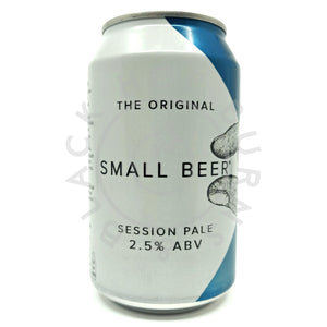 Small Beer Session Pale 2.5% (330ml can)-Hop Burns & Black
