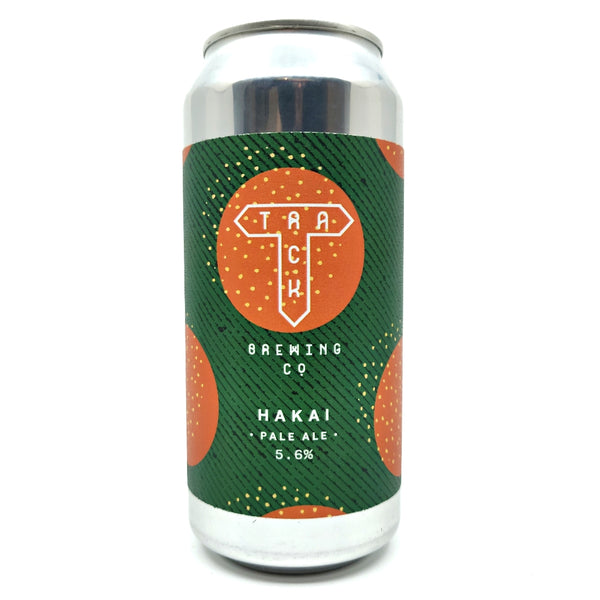 Track Hakai Pale Ale 5.6% (440ml can)-Hop Burns & Black