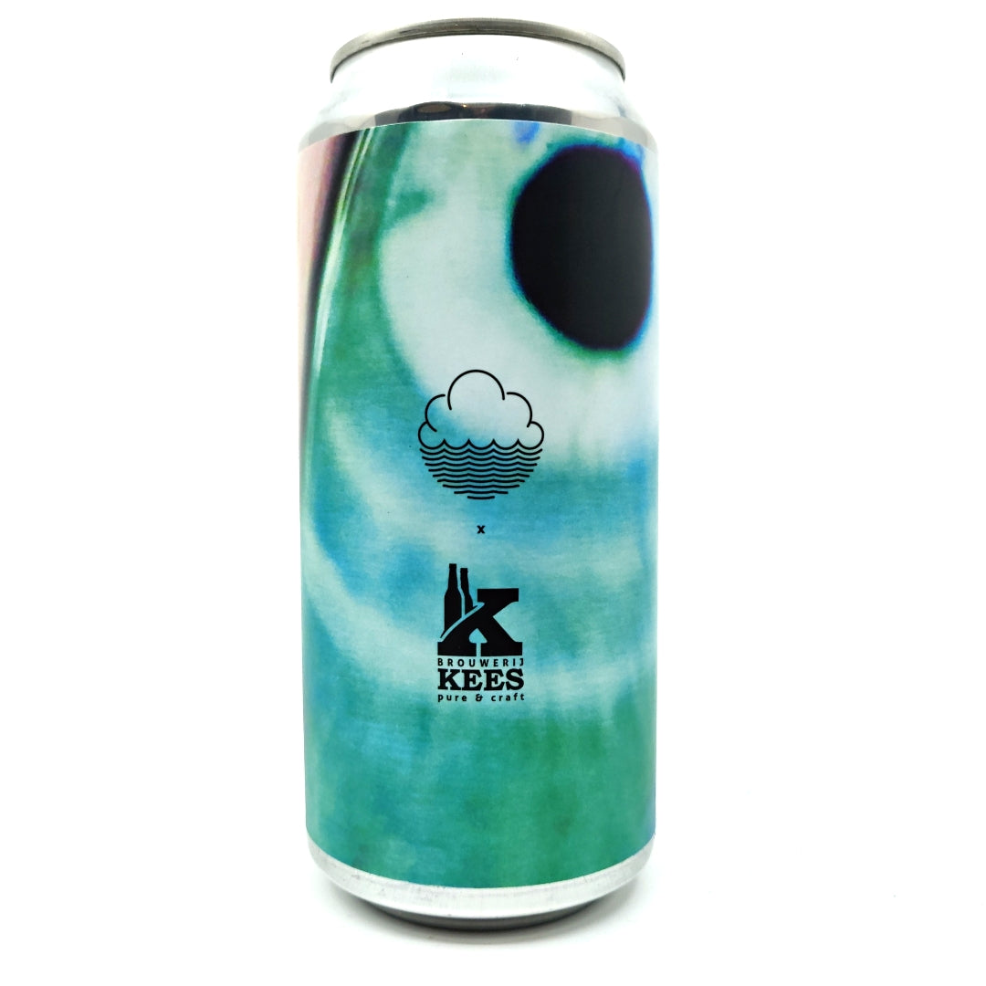 Cloudwater x Kees You've Been Spotted Imperial Stout 9% (440ml can)-Hop Burns & Black