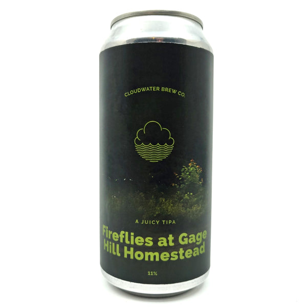 Cloudwater Fireflies at Gage Hill Homestead Triple IPA 11% (440ml can)-Hop Burns & Black