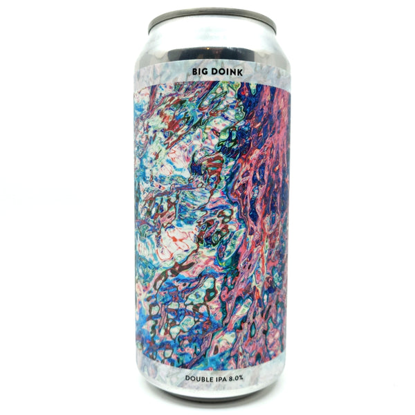 Gamma Brewing Big Doink Double IPA 8% (440ml can)-Hop Burns & Black