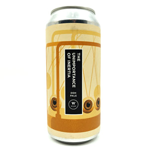 Wylam The Unimportance Of Inertia DDH Pale 5.8% (440ml can)-Hop Burns & Black