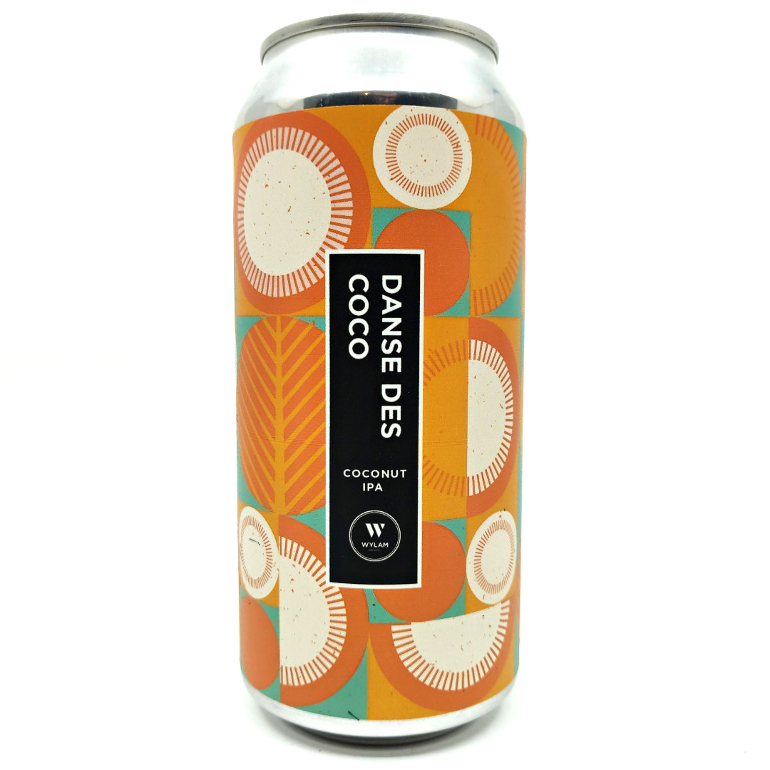 Wylam Danse Des Coco Coconut IPA 6.9% (440ml can)-Hop Burns & Black