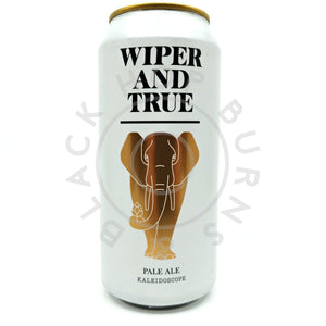 Wiper & True Kaleidoscope Pale Ale 4.2% (440ml can)-Hop Burns & Black