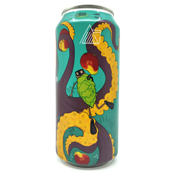 Wander Beyond Octopod Imperial Milkshake IPA 12% (440ml can)-Hop Burns & Black