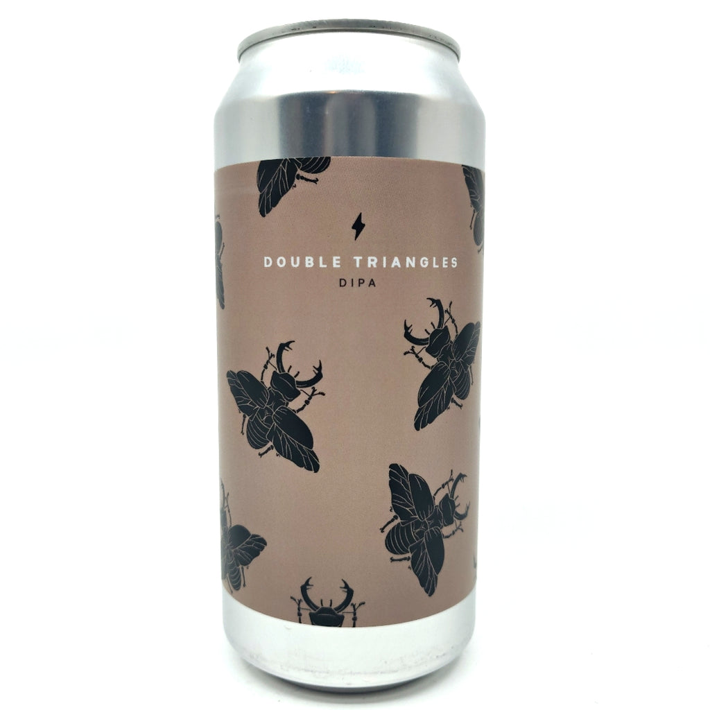 Garage Beer Double Triangles DIPA 8.3% (440ml can)-Hop Burns & Black
