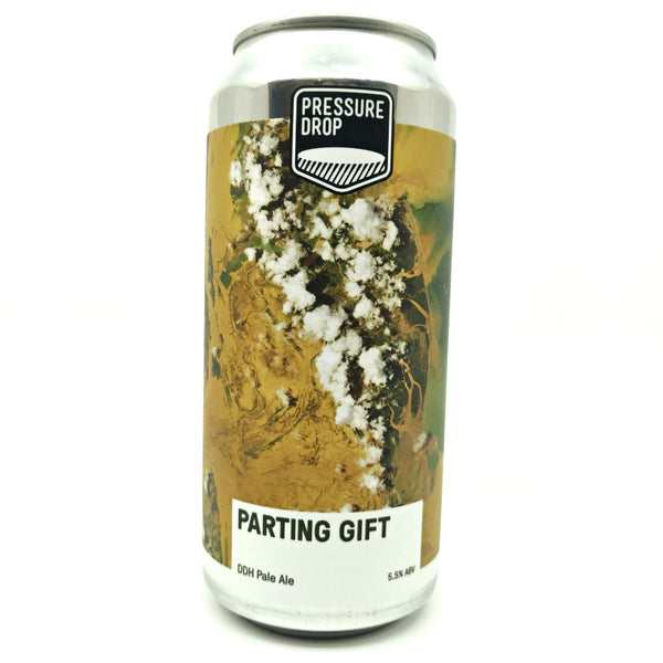 Pressure Drop Parting Gift DDH Pale Ale 5.5% (440ml can)-Hop Burns & Black