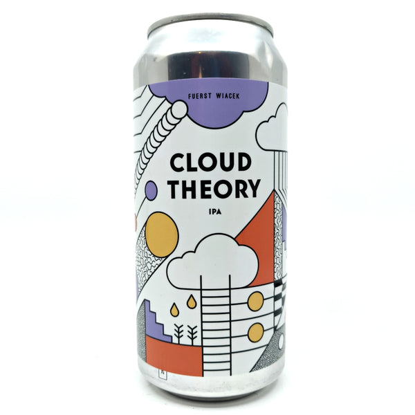 Fuerst Wiacek Cloud Theory IPA 6.8% (440ml can)-Hop Burns & Black