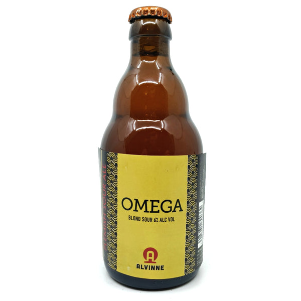 Alvinne Omega Flemish Sour Ale 6% (330ml)-Hop Burns & Black