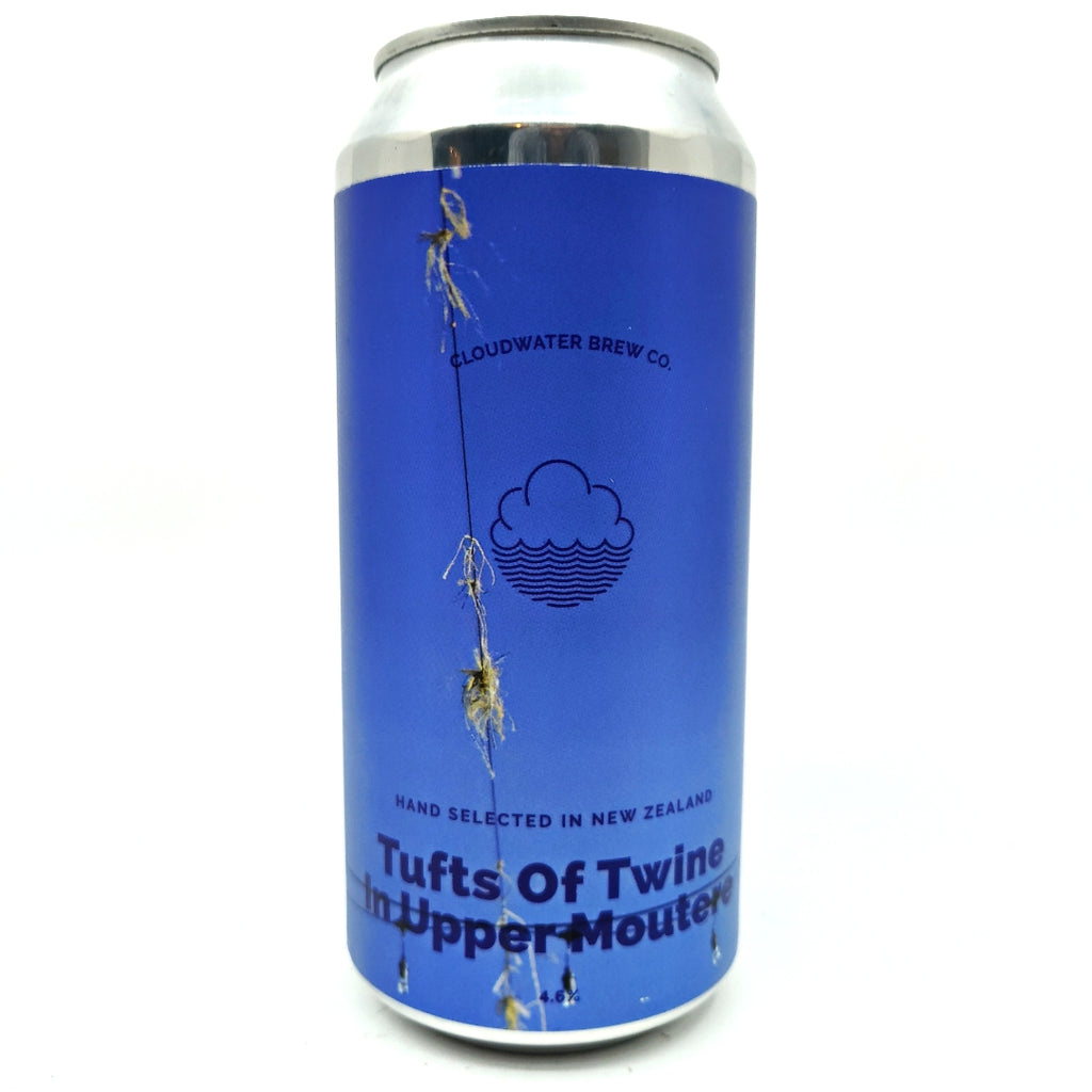 Cloudwater Tufts Of Twine In Upper Moutere Pilsner 4.6% (440ml can)-Hop Burns & Black