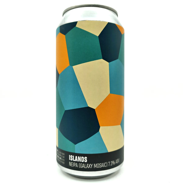 Howling Hops Islands NEIPA 7.3% (440ml can)-Hop Burns & Black