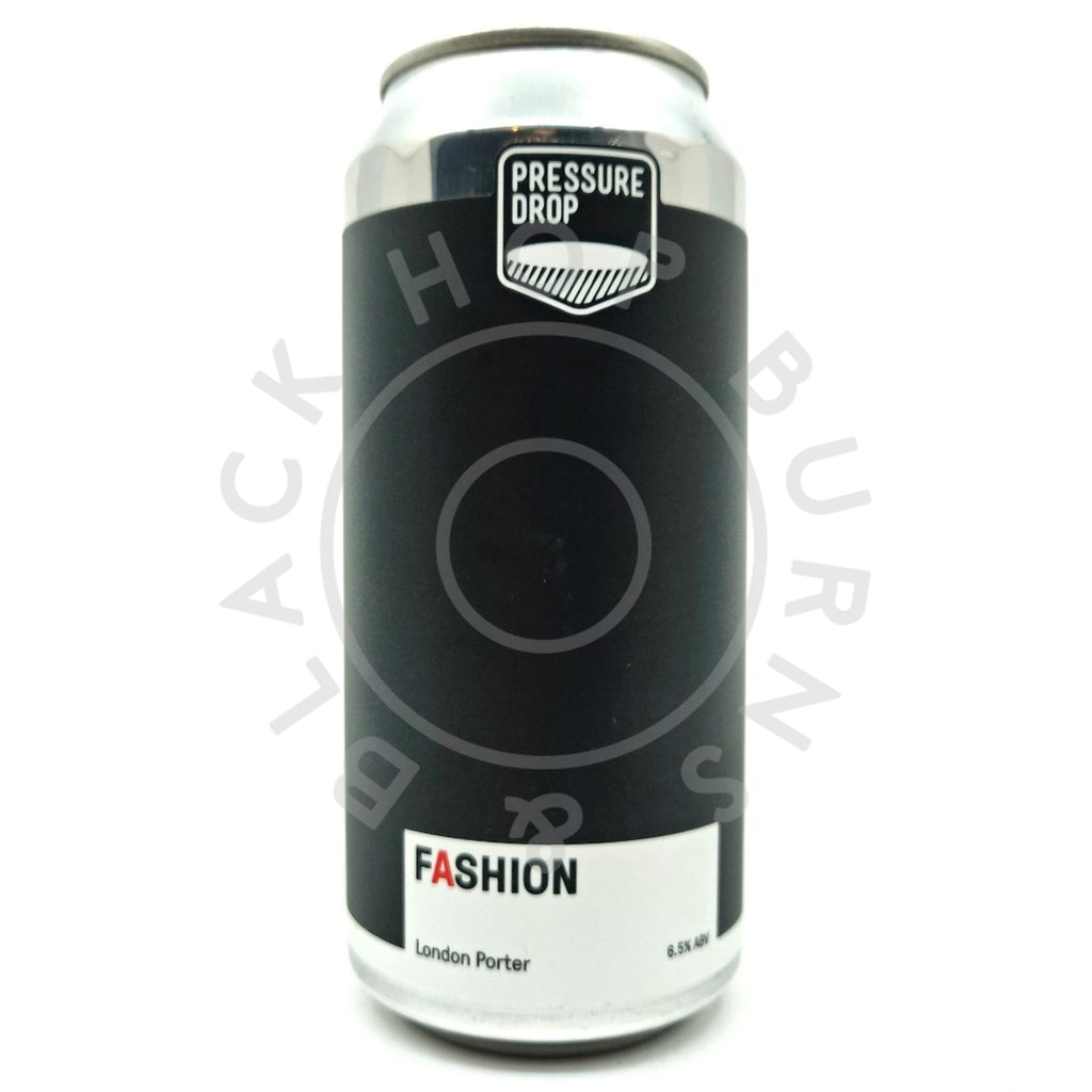Pressure Drop Fashion London Porter 6.5% (440ml can)-Hop Burns & Black