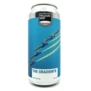 Pressure Drop The Gradients DDH Pale Ale 5.6% (440ml can)-Hop Burns & Black