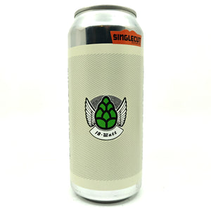 SingleCut Beersmiths 18-Watt IPA 5% (473ml can)-Hop Burns & Black