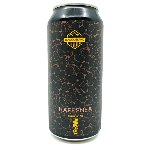 Basqueland x To Ol Kafesnea Imperial Stout 11% (440ml can)-Hop Burns & Black