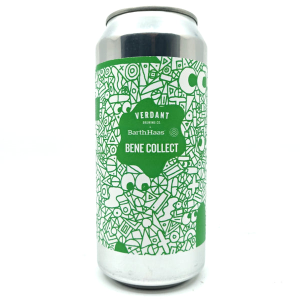 Verdant Bene Collect New England Pale Ale 6% (440ml can)-Hop Burns & Black