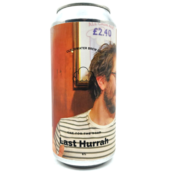 Cloudwater Last Hurrah IPA 6% (440ml can)-Hop Burns & Black
