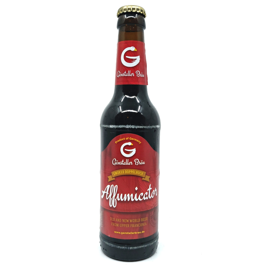 Ganstaller Affumicator Smoked Doppelbock 9.6% (330ml)-Hop Burns & Black