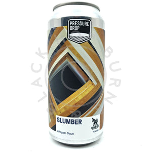 Pressure Drop Slumber Affogato Stout 10% (440ml can)-Hop Burns & Black