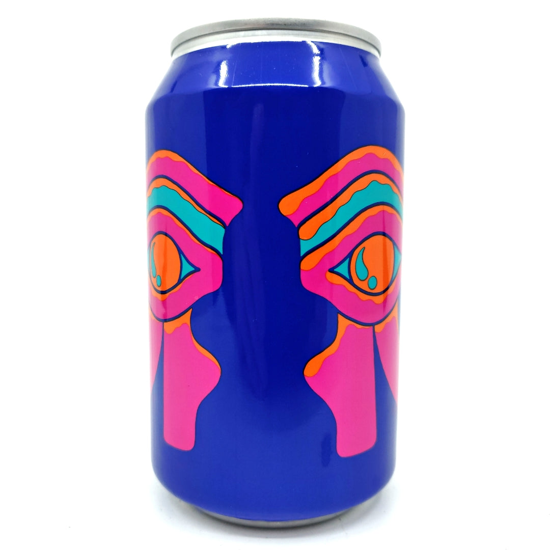 Omnipollo Antropomorf Double Dry-Hopped Double Vanilla Double Mango Smoothie Alcohol-free Pale Ale 0.3% (330ml can)-Hop Burns & Black