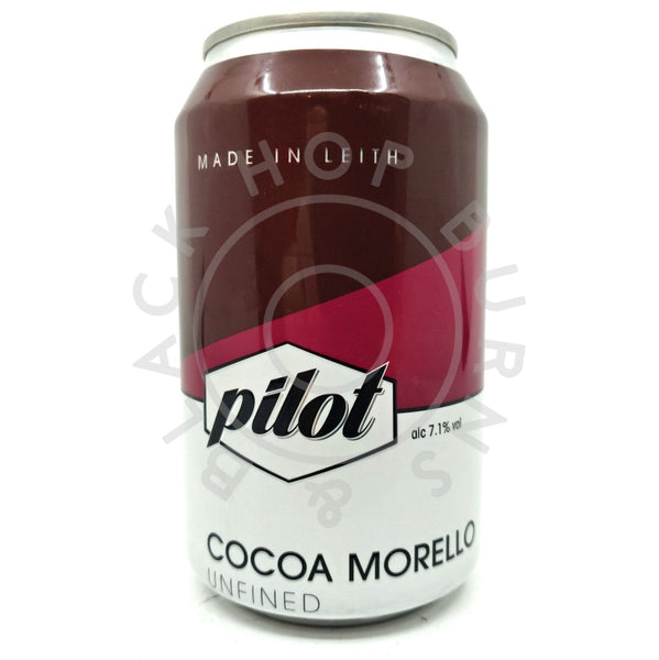 Pilot Cocoa Morello Milk Stout 7.1% (330ml can)-Hop Burns & Black