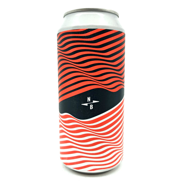 North Brewing Co Dream State Fig, Almond & Cinnamon Stout 9.5% (440ml can)-Hop Burns & Black