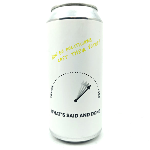 Cloudwater What's Said & Done NZ DDH IPA 6.5% (440ml can)-Hop Burns & Black