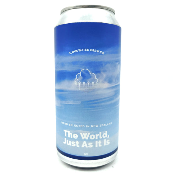 Cloudwater The World, Just As It Is Vienna Lager 5% (440ml can)-Hop Burns & Black