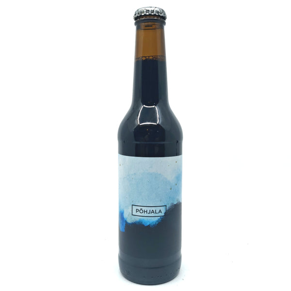 Pohjala Winter Banger Imperial Stout 12.5% (330ml)-Hop Burns & Black