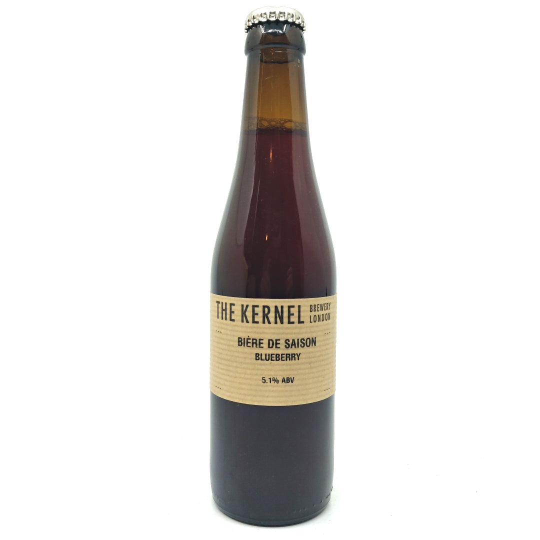 Kernel Biere de Saison Blueberry 5.1% (330ml)-Hop Burns & Black