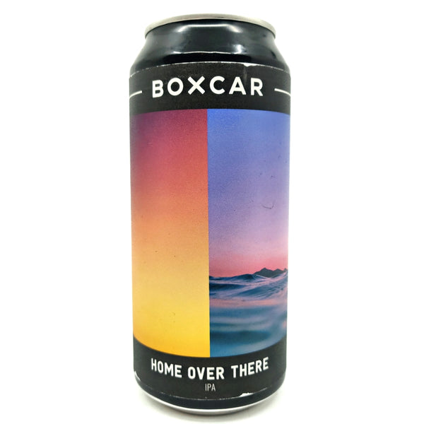 Boxcar Home Over There IPA 6.5% (440ml can)-Hop Burns & Black