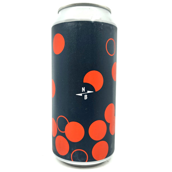 North Brewing Co Loops and Dots DDH IPA 6.5% (440ml can)-Hop Burns & Black