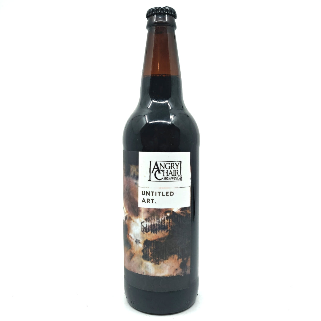 Untitled Art x Angry Chair Brewing Barrel Aged Chocolate Vanilla Maple Stout 13% (650ml)-Hop Burns & Black