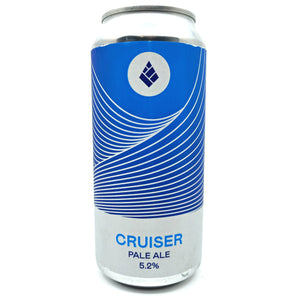 Drop Project Cruiser Pale Ale 5.2% (440ml can)-Hop Burns & Black