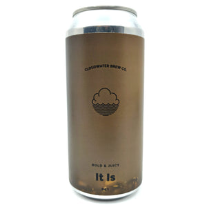 Cloudwater It Is DDH IPA 6.5% (440ml can)-Hop Burns & Black