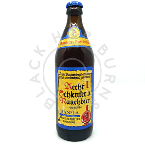 Schlenkerla Rauchbier Hansla 1.2% (500ml)-Hop Burns & Black