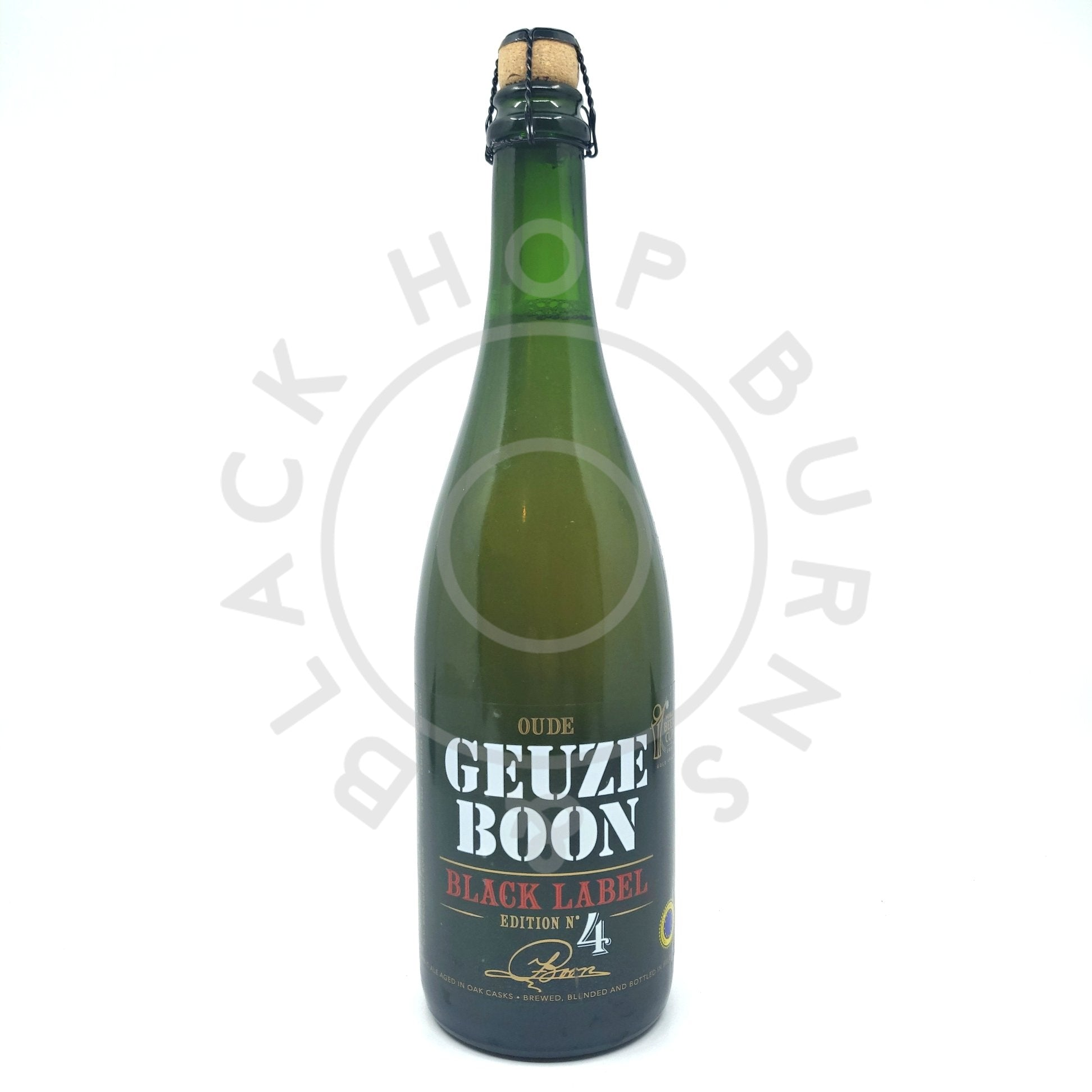 Boon Black Label Edition #4 7% (750ml)-Hop Burns & Black