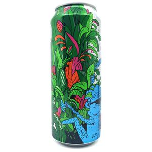 Lervig Tasty Juice Double Hopped Citra IPA 6% (500ml can)-Hop Burns & Black