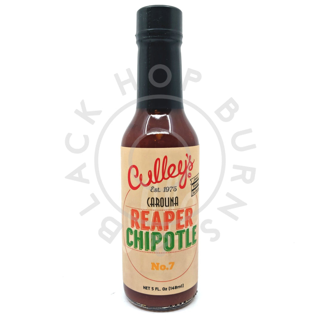 Culley's x Puckerbutt Carolina Reaper Chipotle Hot Sauce (150ml)-Hop Burns & Black