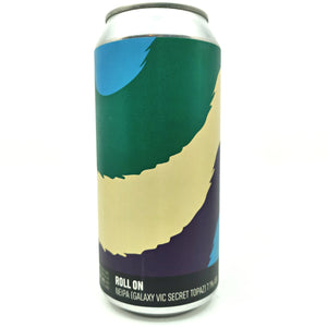 Howling Hops Roll On NEIPA 7.1% (440ml can)-Hop Burns & Black