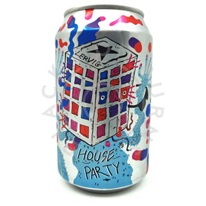 Lervig House Party Session IPA 4% (330ml can)-Hop Burns & Black