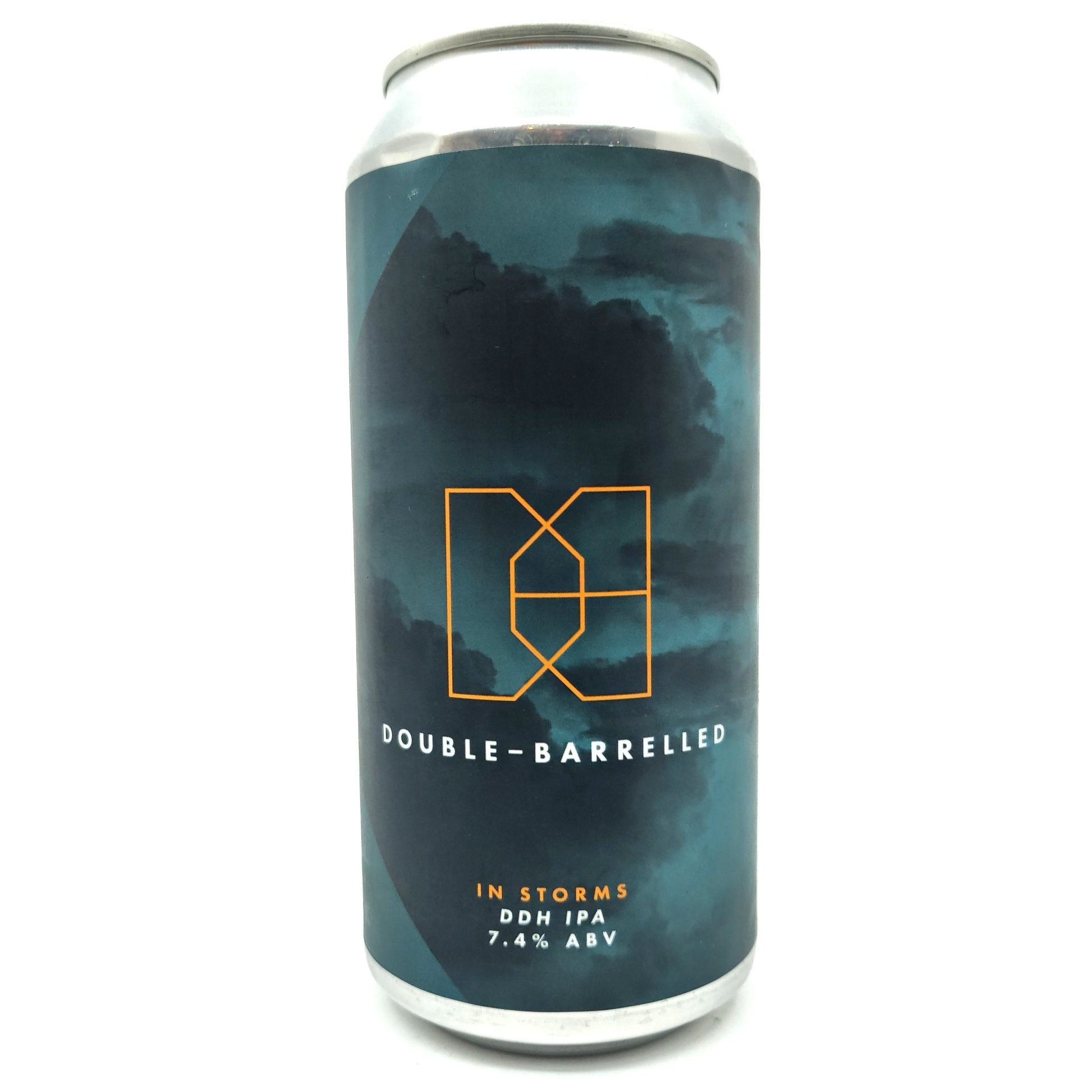 Double Barrelled In Storms IPA 7.4% (440ml can)-Hop Burns & Black