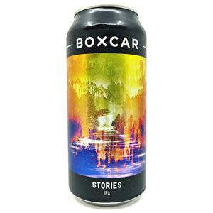 Boxcar Stories IPA 6.5% (440ml can)-Hop Burns & Black