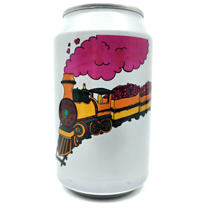 Fermenterarna Fruit Train Gose 4.5% (330ml can)-Hop Burns & Black