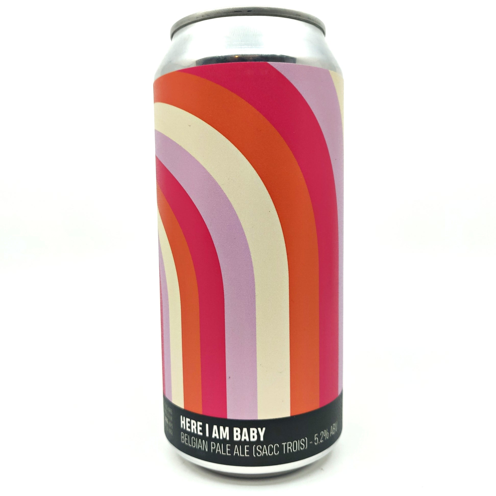 Howling Hops x Donzoko Here I Am Baby Belgian Pale Ale 5.2% (440ml can)-Hop Burns & Black