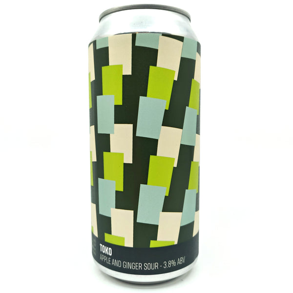 Howling Hops Toko Apple & Ginger Sour 3.8% (440ml can)-Hop Burns & Black