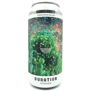 Duration x Cloudwater Petrichor Agricultural IPA 6% (440ml can)-Hop Burns & Black