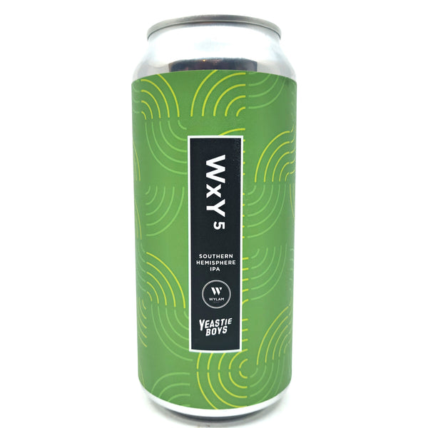 Wylam x Yeastie Boys WxY5 IPA 7% (440ml can)-Hop Burns & Black