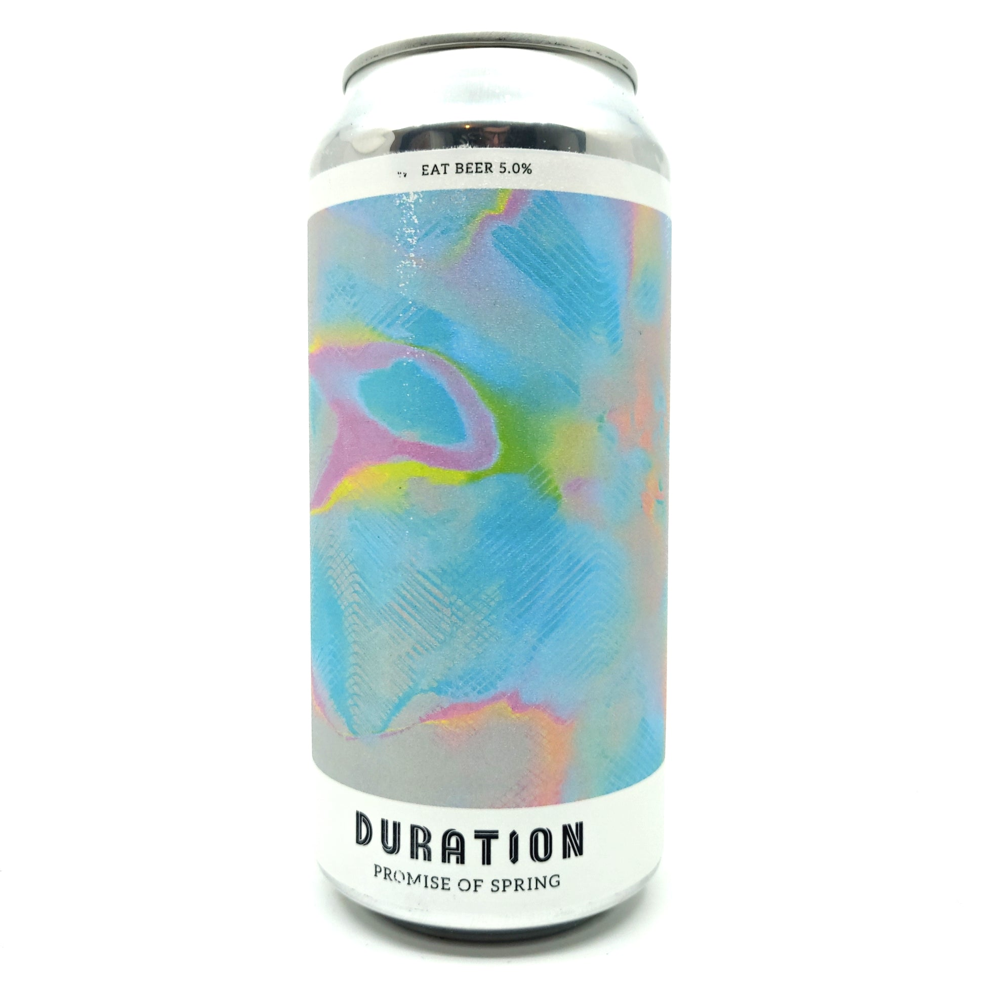 Duration Promise of Spring Wheat Beer 5% (440ml can)-Hop Burns & Black